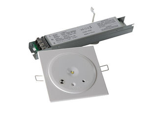 IP20 Ceiling Emergency Light , Emergency LED Down Light Low Energy Dissipation