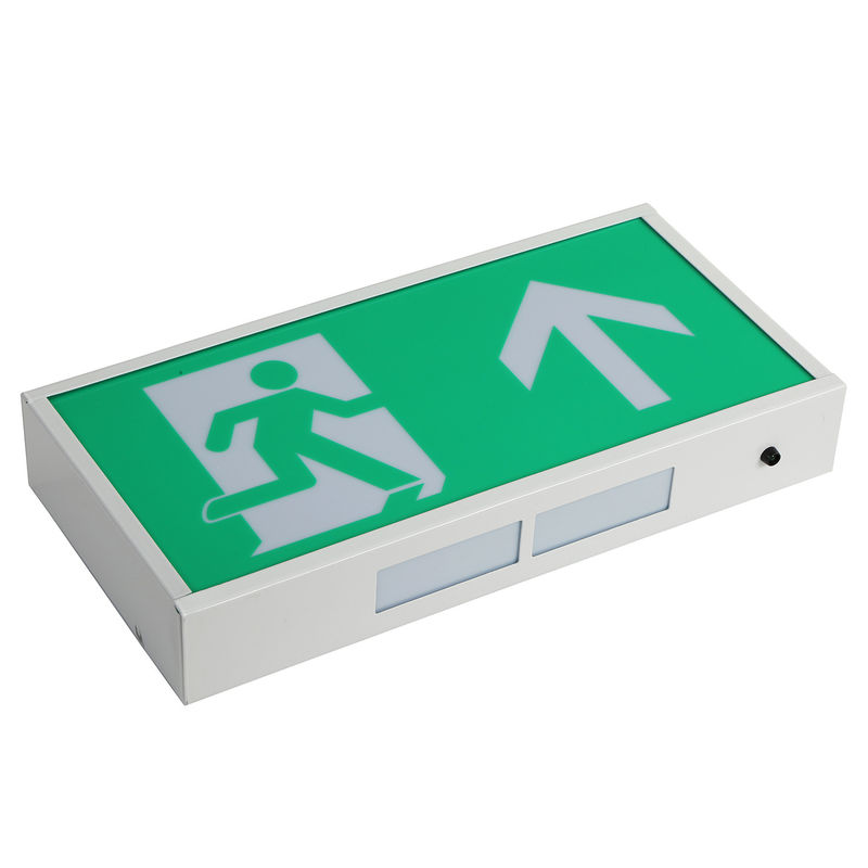 Rechargeable Led Exit Signs , Emergency Battery Powered Exit Sign Lights With 3 Years