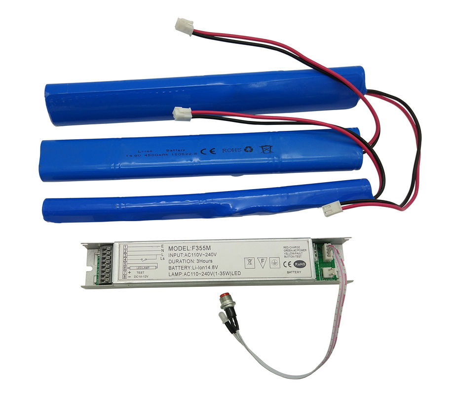 Li-ion Battery Rechargeable Emergency Conversion Kit with 1-3hour Emergency Time