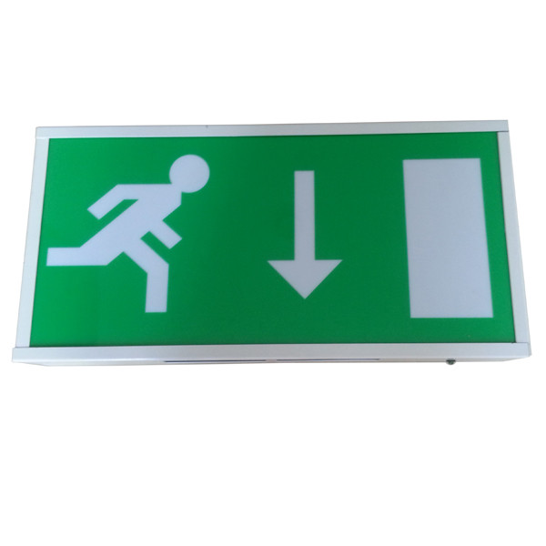 Interior Maintained Led Exit Signs Emergency Lights For Commercial Buildings